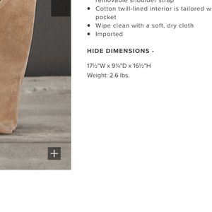 Restoration Hardware Bags - 🌴NOT IN STORES ANYMORE! RH Italian Leather Tote🌴